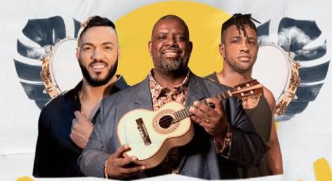Belo, Péricles e Dan - Samba na Veia
