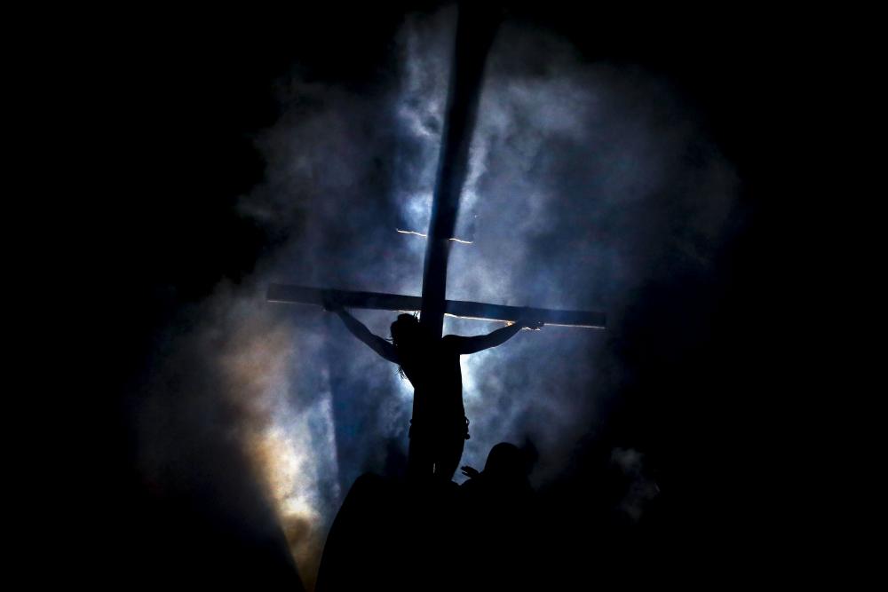Paixão de Cristo no Parque Cachoeira