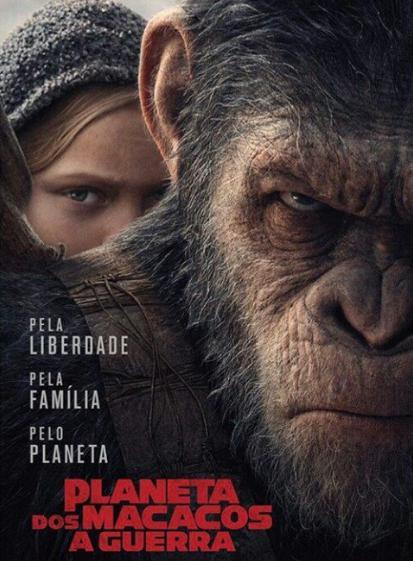 Filme Planeta dos Macacos 2017 em Curitiba