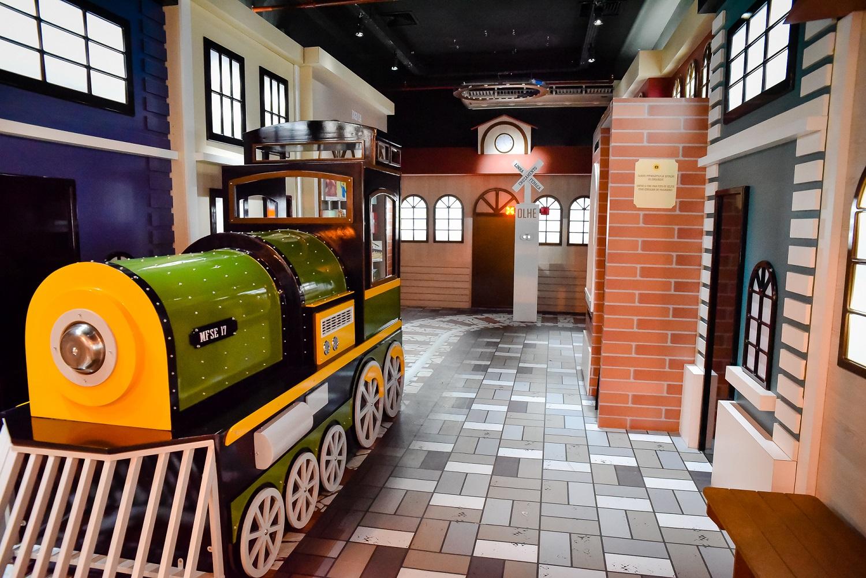 Férias no Mini Ferroviário - Shopping Estação