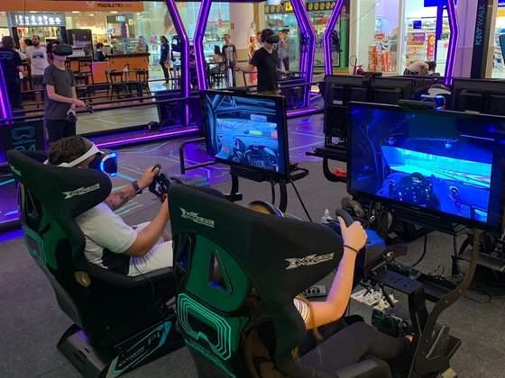Virtual Experience no Shopping Palladium