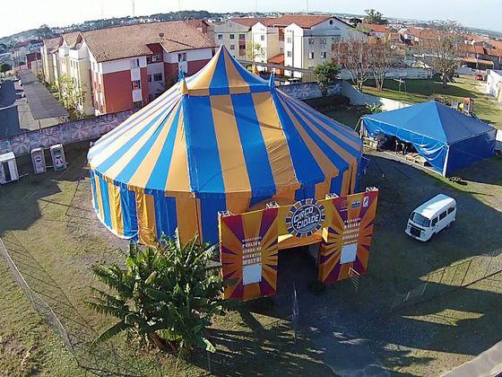 Circo da Cidade do Zé Preguiça. Foto: Cido Marques/Divulgação