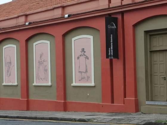 Fachada Teatro José Maria Santos.  Foto: Aniele Nascimento/Gazeta do Povo