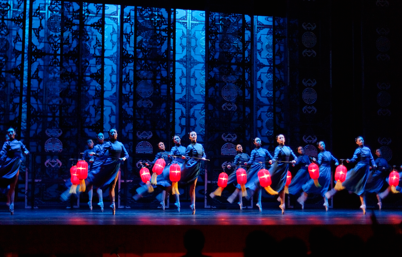 Lanternas Vermelhas - Balé Nacional da China