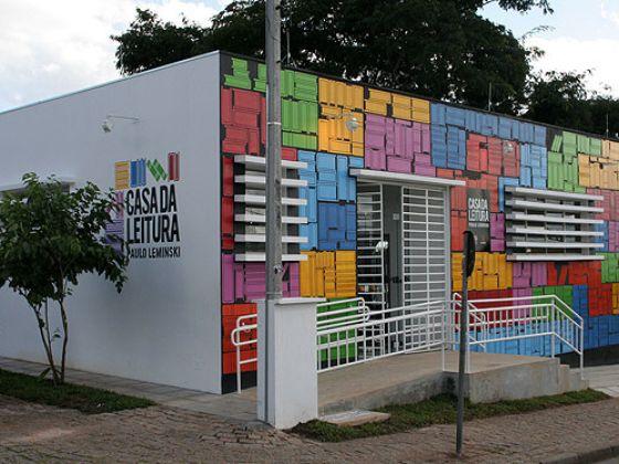 Casa da Leitura Paulo Leminski