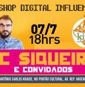 Workshop Digital Influencers com PC Siqueira