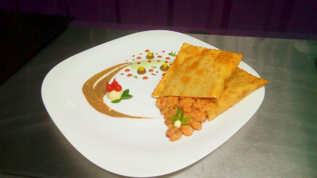 Pastel sabor Di Mari, da Di Pastelli. Indicado a melhor pastel pelo Sabor Popular 2017. Foto: Divulg