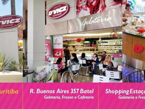 D'Vicz Sorvetes - Shopping Palladium