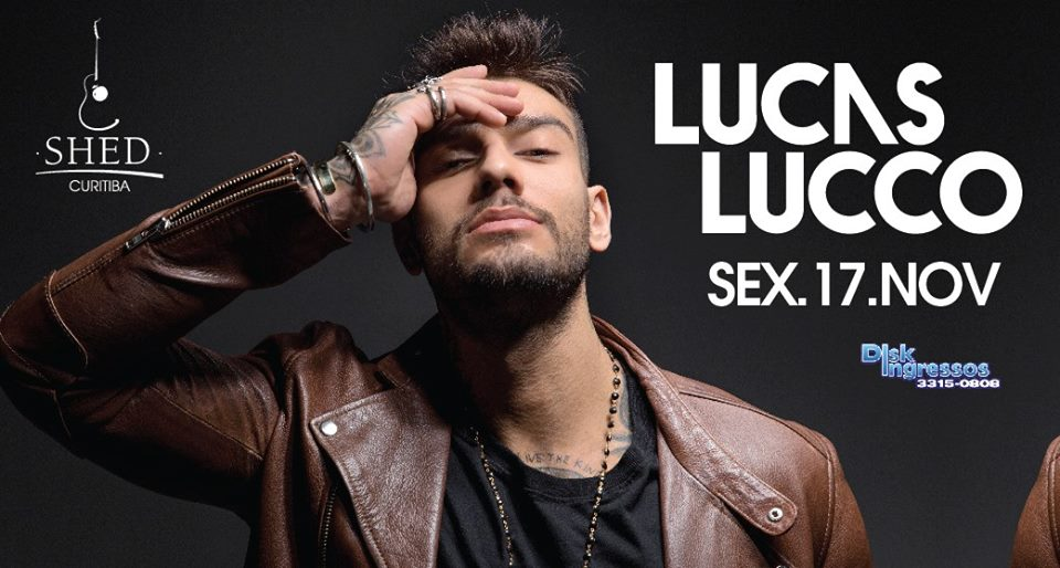 Lucas Lucco na Shed