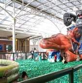 Escorrega Dino Kong - Piscina de Bolinhas
