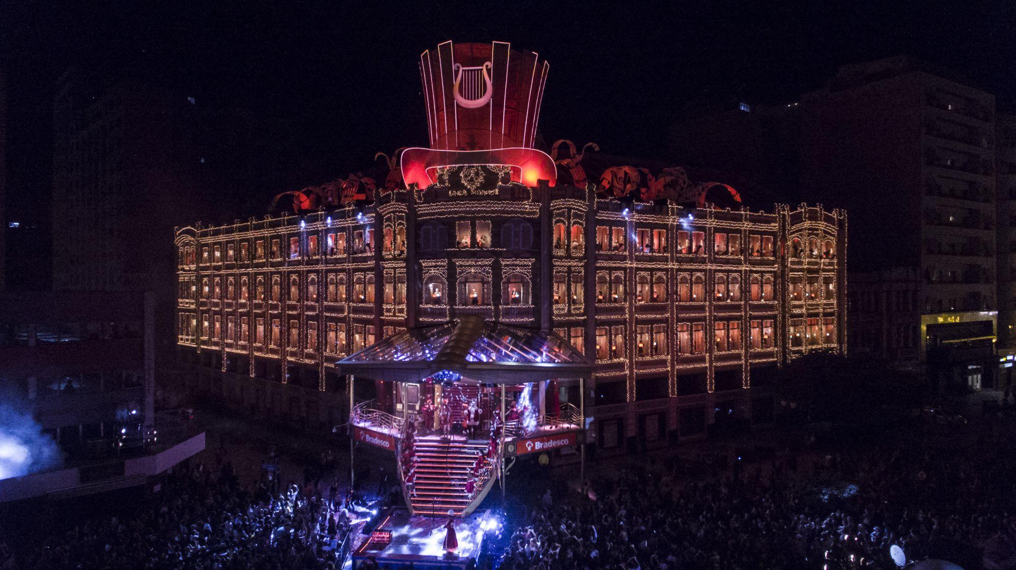 Espetáculo de Natal Palácio Avenida 2018