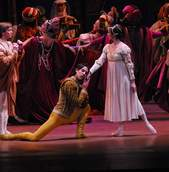 Ballet de Santiago apresenta Romeu e Julieta