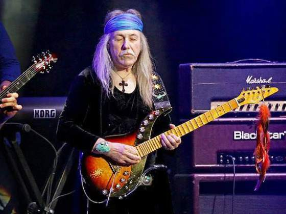 Guitarrista do Scorpions Uli Jon Roth em Curitiba