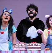 Benedita no Teatro Barracão EnCena