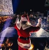 Papai Noel chega ao Shopping São José