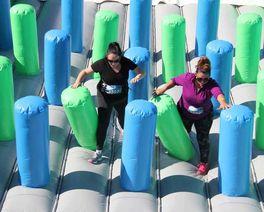 Corrida Insana: Curitiba recebe em novembro prova com obstáculos infláveis