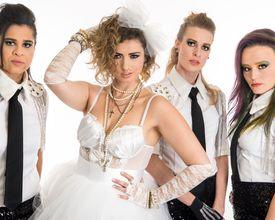 No aniversário de Madonna, banda curitibana só de mulheres homenageia a Rainha do Pop