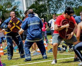Campeonato estilo crossfit reúne 100 bombeiros neste domingo (22)