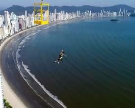 Atleta quer tornar Balneário Camboriú a Meca Latino-americana do Base Jump