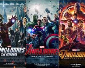 Relembre a saga dos Vingadores nos cinemas de Curitiba