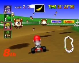 Bar promove campeonato de Mario Kart (com open de onion rings e batata frita!)
