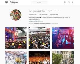 Guia Gazeta do Povo + Clube está também no Instagram