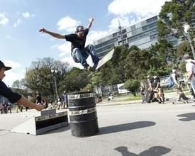 Go Skate Day é neste domingo na Praça Nossa Senhora de Salete