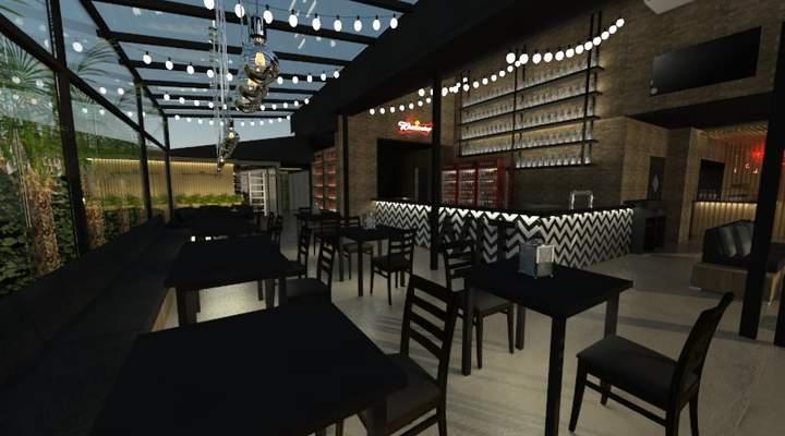 Novo bar na Itupava reúne palco, pista, bares, adega e comidinhas
