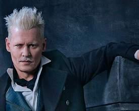 """""""Amei fazer Grindelwald"""", diz Johnny Depp sobre sobre personagem em Animais Fantásticos"""
