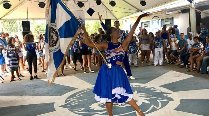 Mocidade Azul vai usar o samba no pé para falar de união