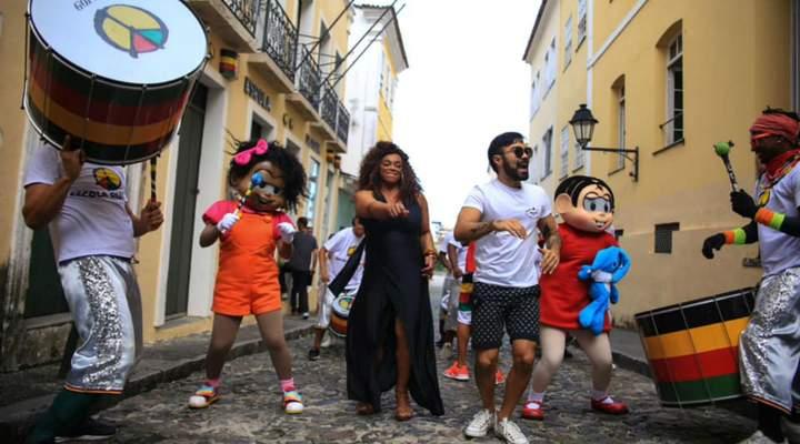 Com Olodum, novo espetáculo da Turma da Mônica chega a Curitiba em setembro