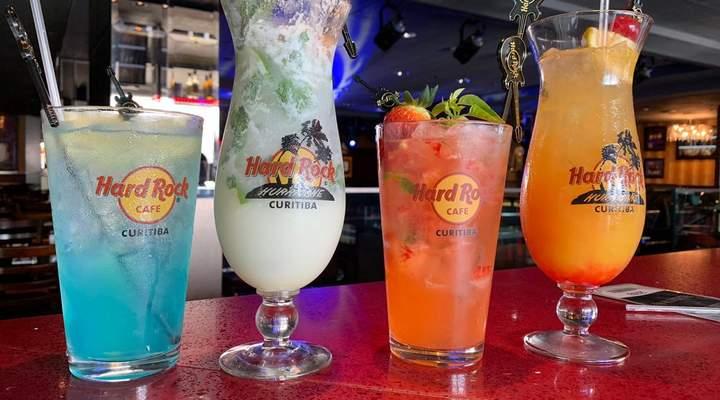 Quatro drinks de assinatura para experimentar no Hard Rock Cafe