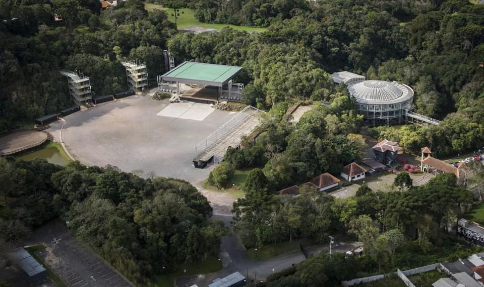 Parque das Pedreiras tem vários espaços para conhecer. Foto: Leticia Akemi / Gazeta do Povo