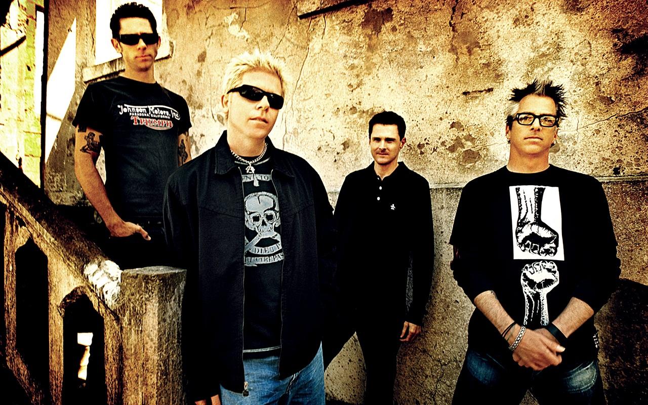 The Offspring é destaque na programação da semana em Curitiba. Foto: Divulgação.