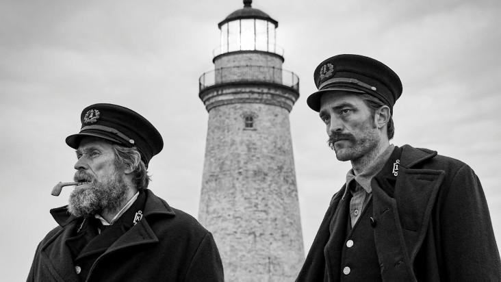 Willem Defoe e Robert Pattinson em O Farol (2019)