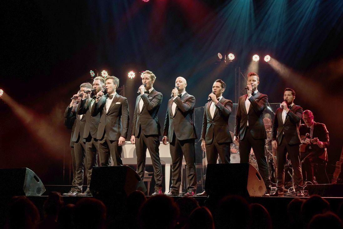 Grupo australiano The Ten Tenors. Foto: divulgação.
