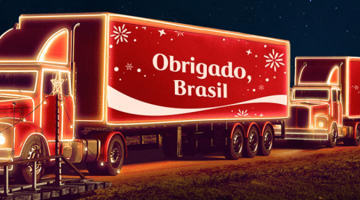 Caravana Iluminada da Coca-Cola passa por oito cidades paranaenses