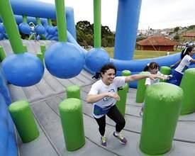 Corrida com obstáculos infláveis gigantes ganha edição em março
