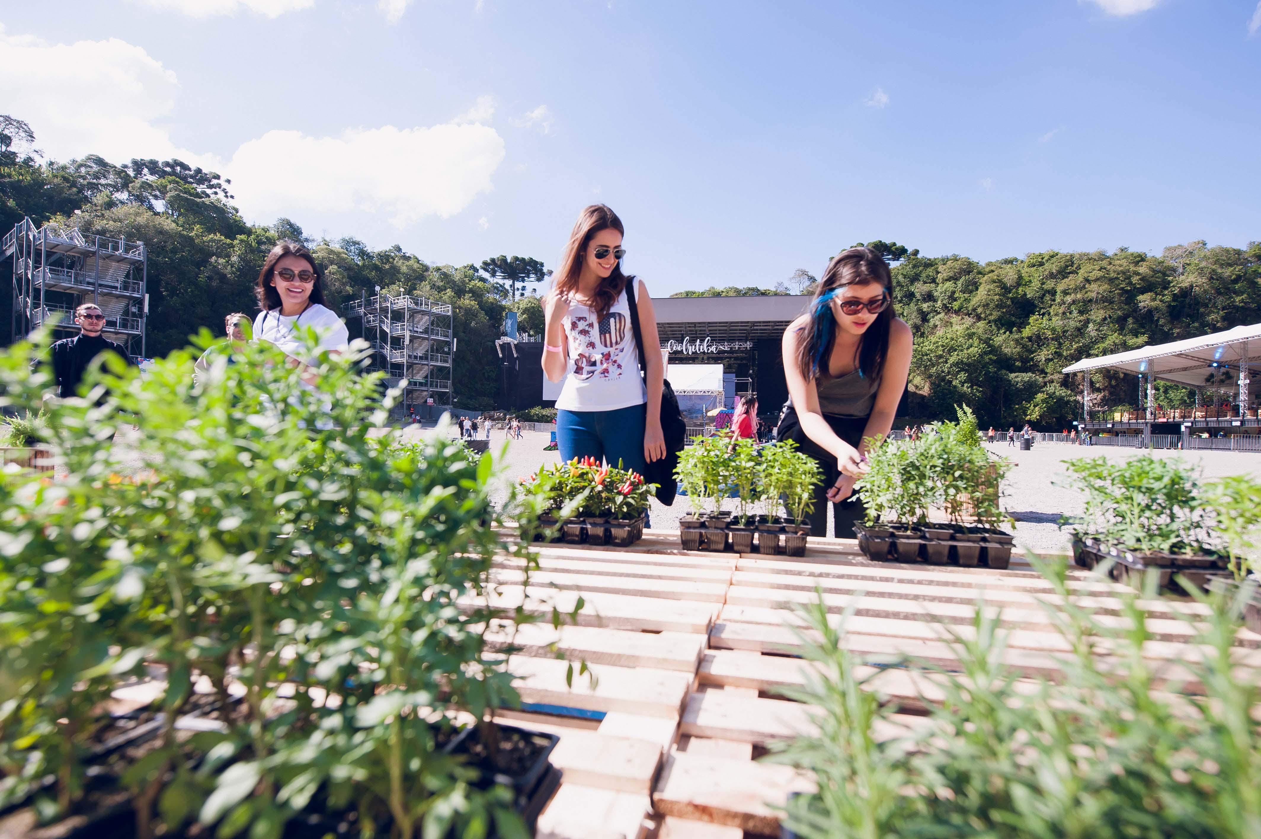 Teve espaço para a sustentabilidade no primeiro Coolritiba