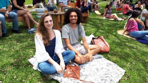 Luiz e Laísa. Foto: Amanda Milléo.