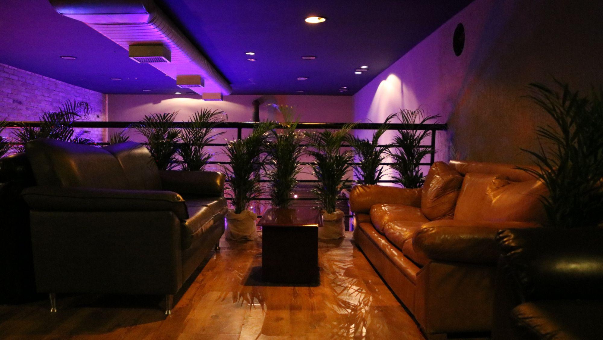 Mezanino do Porta Bar é chamado de Éden e conta com sofás confortáveis. Foto: Divulgação