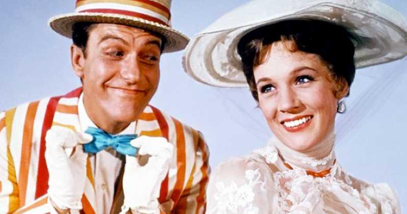 Atores do primeiro filme de Mary Poppins