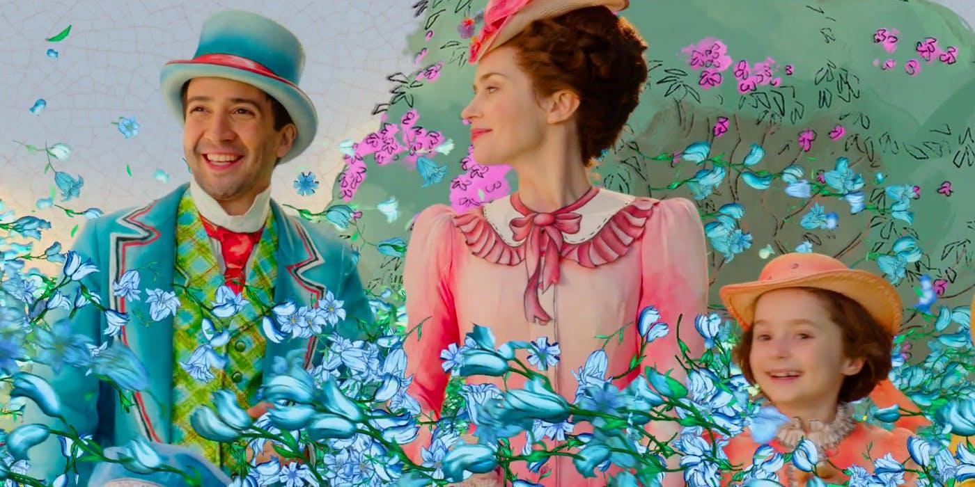 A continuação de Mary Poppins também tem cenas com animação 2D
