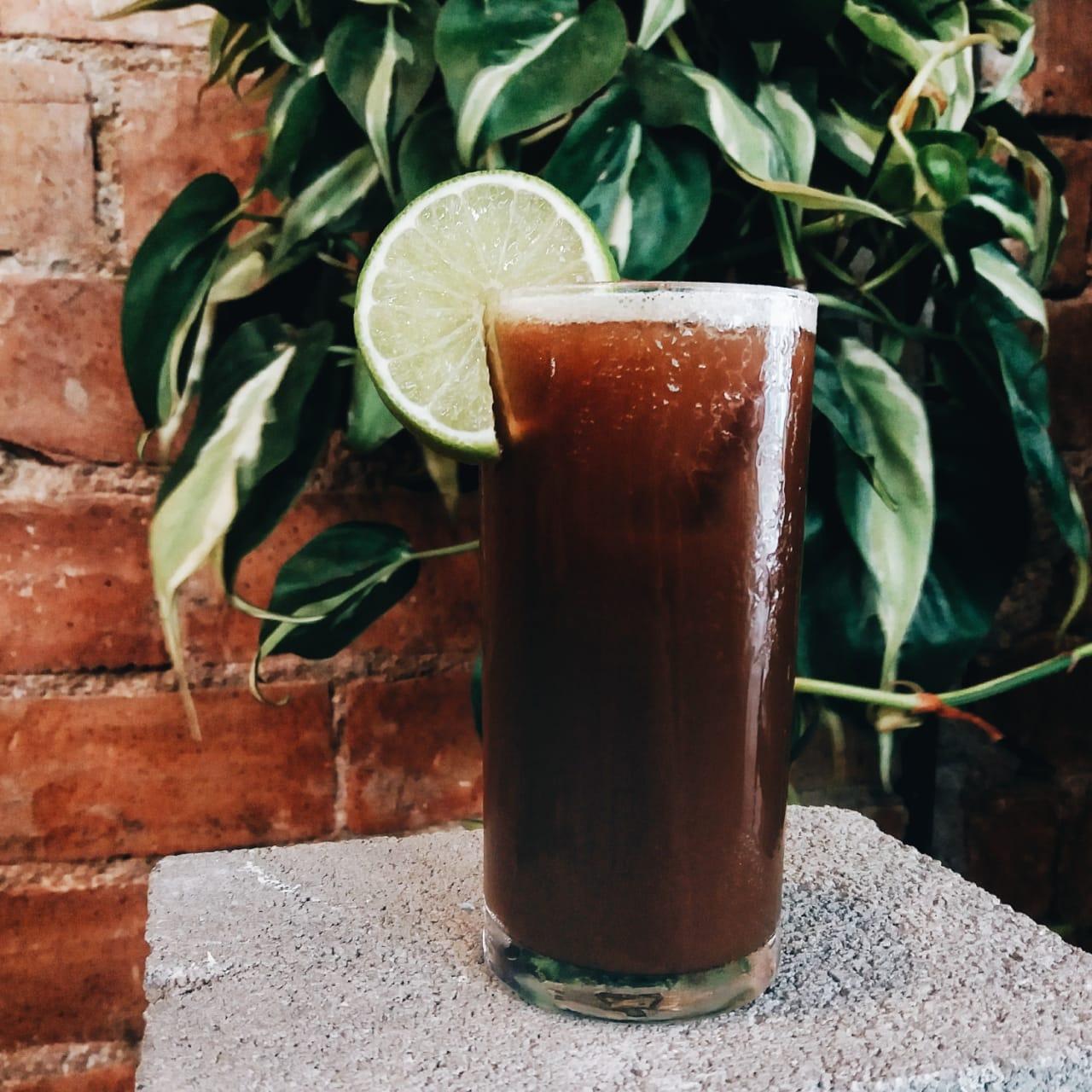 Coadinho Peligroso, drink com café do Caffeine. Foto: Divulgação