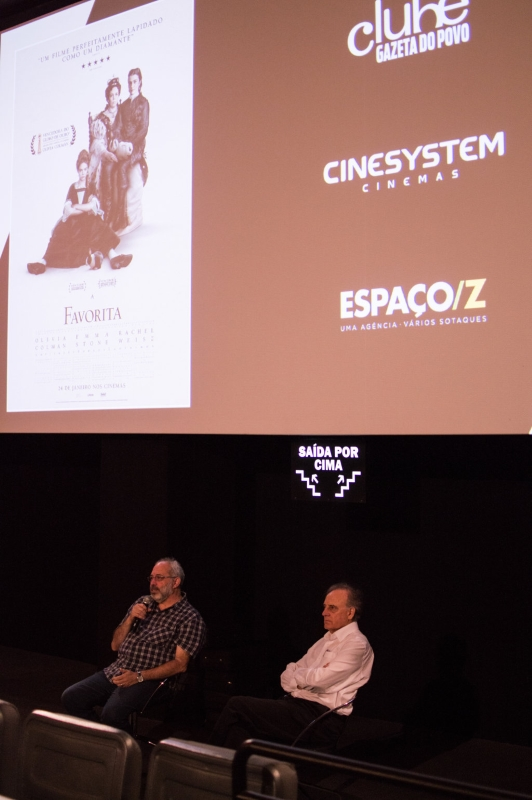 Convidados debateram o filme. Foto: Alexandre Ferreira