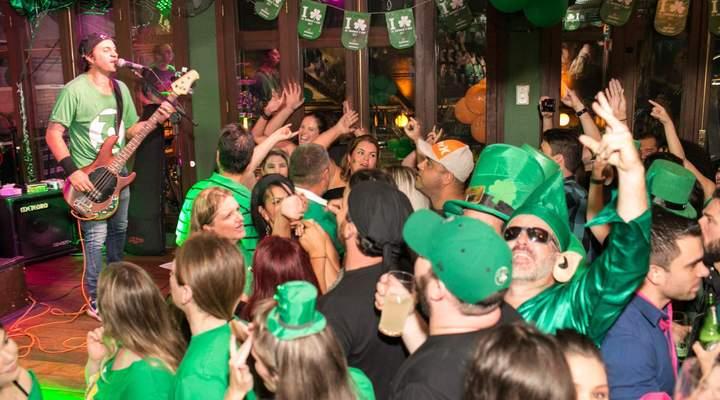 Roteiro para aproveitar as melhores festas de Saint Patrick's Day em Curitiba