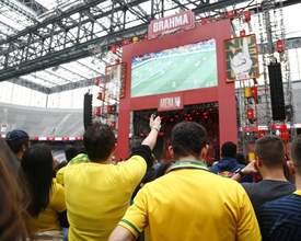 Arena vai transmitir o jogo do Brasil nesta sexta em telão gigante; depois, tem show do Natiruts