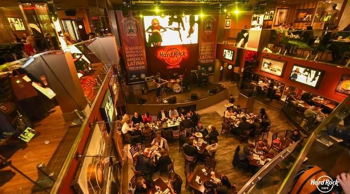 Curitiba recebe batalha de bandas da América Latina no Hard Rock Cafe