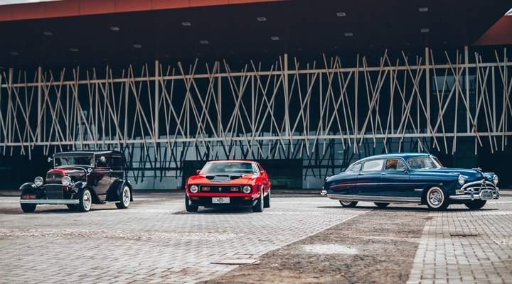 Evento traz a Curitiba 140 carros antigos e acervo pessoal de Ayrton Senna