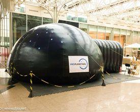 Para aproveitar as férias: filme Da Terra ao Universo será exibido em planetário inflável